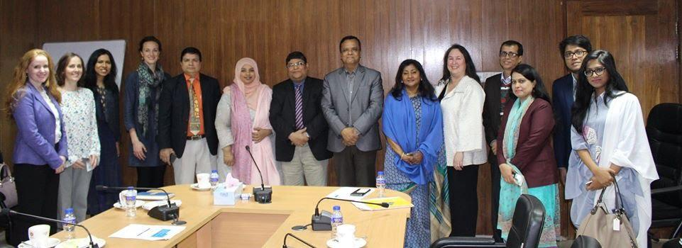 BWIT and WEConnect International and World bank Representative meeting with Central Procurement Technical UNIT – January 2018