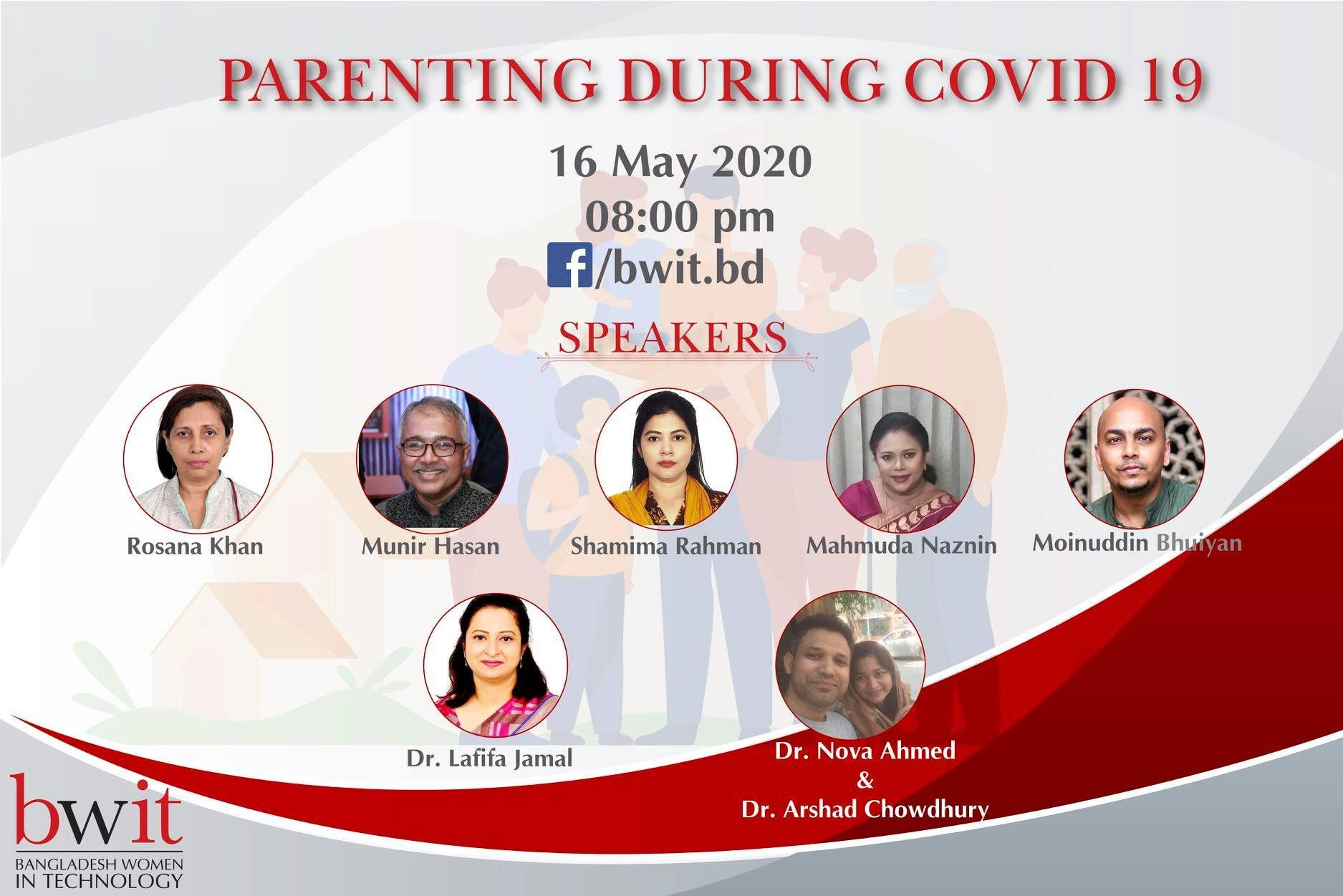 "Webinar on ""Parenting during Covid-19"""