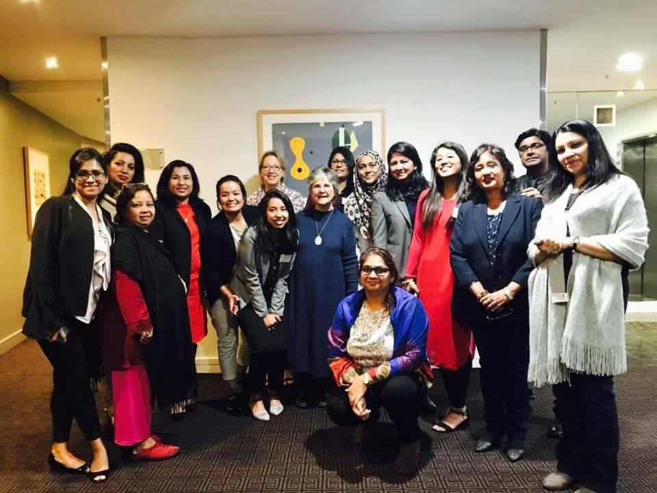 BWIT members received Australia Awards Fellowship University of Southern Queensland May 2017